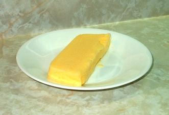 Homemade Mango Sherbet Recipe (also good with peaches).