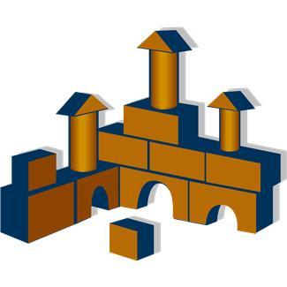 castle of blocks