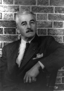 The author William Faulkner