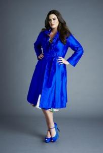 Silk Dupion Frill Coat from Anna Scholz