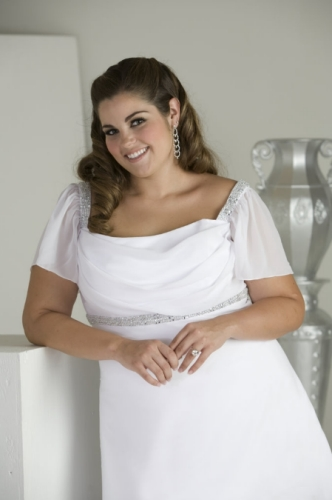 Plus Size Wedding Gown from Sydney's Closet