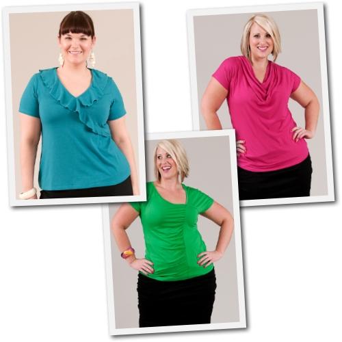 plus size ecofriendly tops by Diane Kennedy