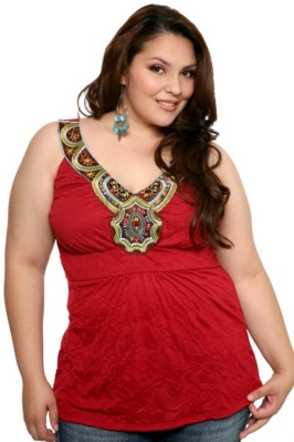 Plus Size Tribal Tank from Torrid