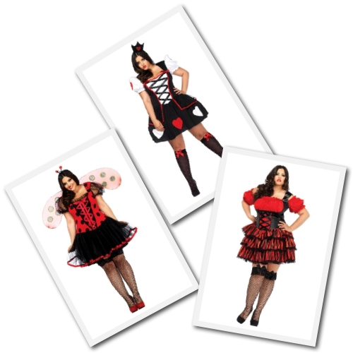 Sexy plus size Halloween costumes from Torrid