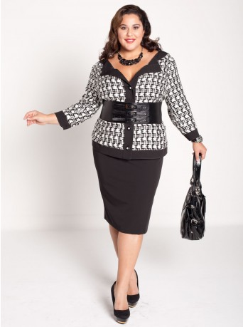plus size career wear