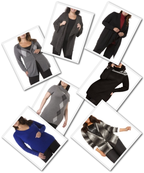 plus size sweaters from Addition-Elle