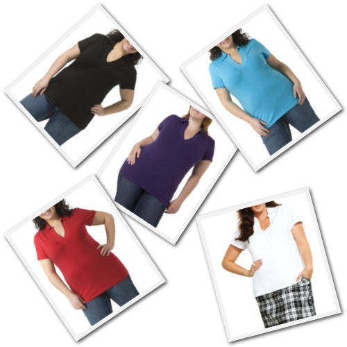 plus size short sleeve tops