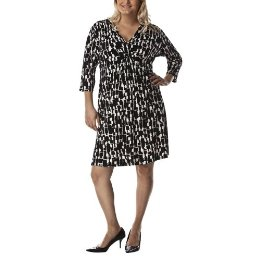 plus size print dress from Target