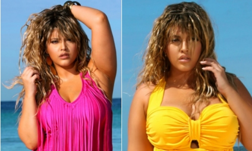 plus size swimsuits from Monif C