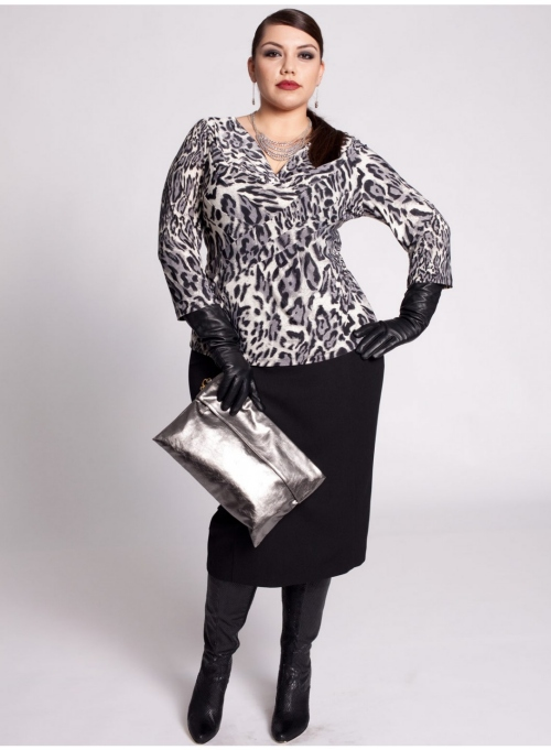 plus size Harlow Skirt and Dietrich Top from Igigi