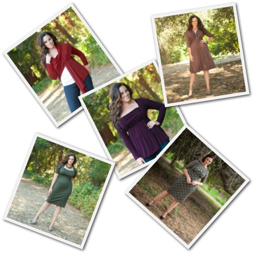 plus size tops and dresses from Kiyonna