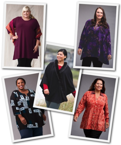 plus size tops from Making It BIg