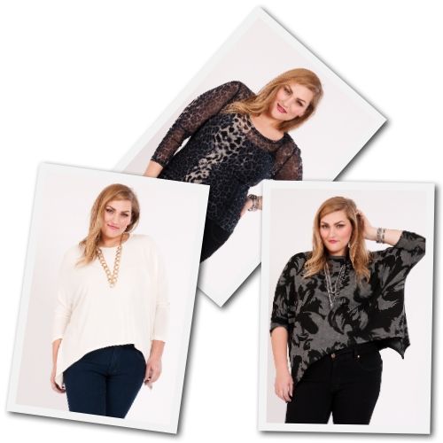 plus size designer tops by Karen Kane