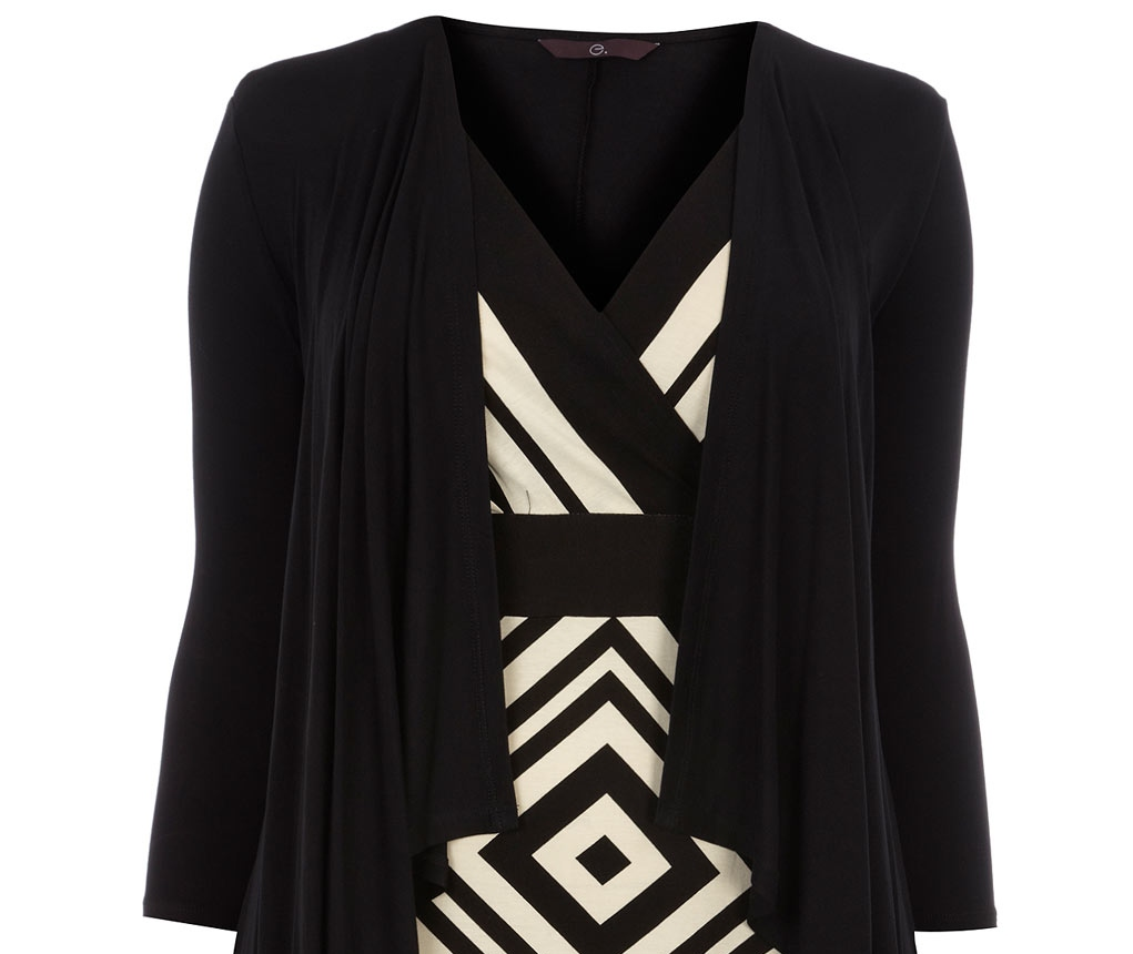 plus size geometric top from Evans