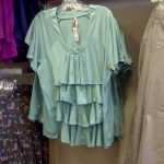 plus size tiered top from Penningtons
