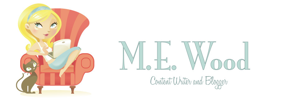 M. E. Wood Content Writer and Blogger