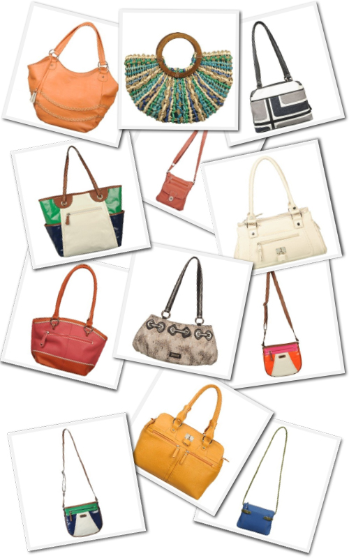 spring handbags from Naturalizer