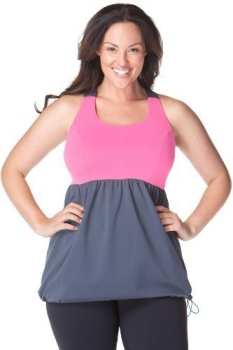 plus size active wear top from Adora Om