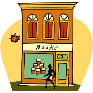 bookstore window display