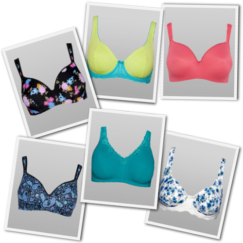 pretty plus size bras from Penningtons
