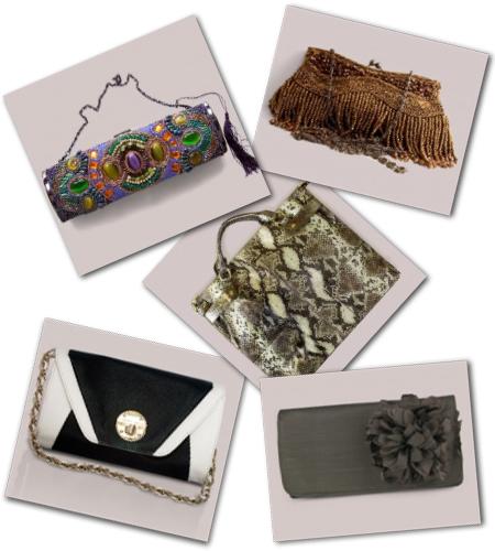 statement clutches and handbags from Igigi