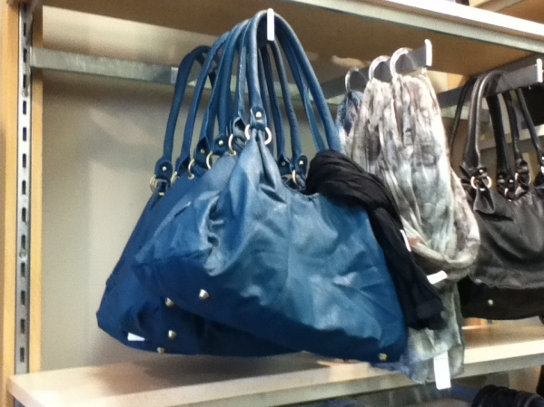blue handbag from Penningtons
