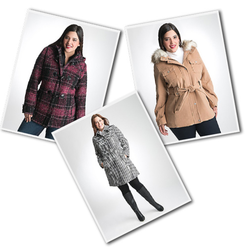 plus size outerwear from Lane Bryant