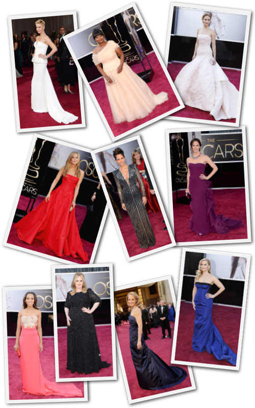 The Best Dressed Women of the Oscars.