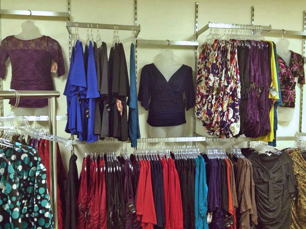 A large selection of fashions to choose from in-store or online at J. Mackenzie Fashions.