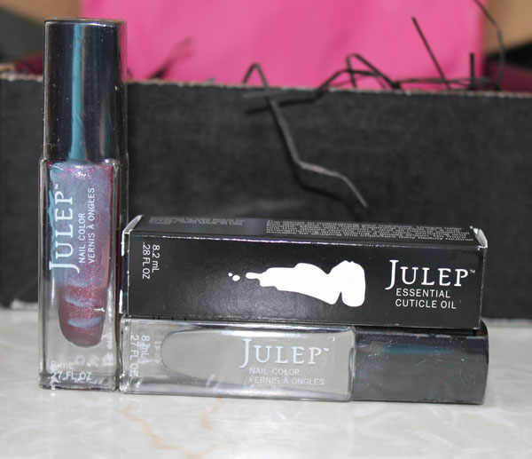 Lisa and Petra shades of Julep nail polish from Julep Maven mail order.