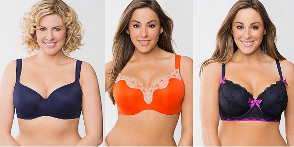 Plus size pretty bras from Lane Bryant.