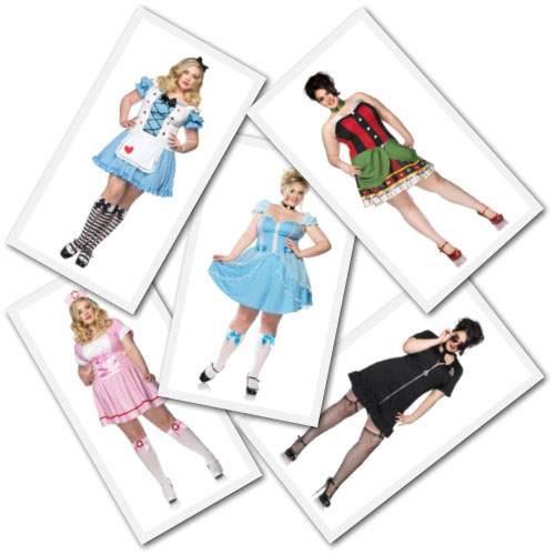 Plus size sexy costumes from Torrid.