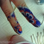 The mess one can make doing this kind of nail art.
