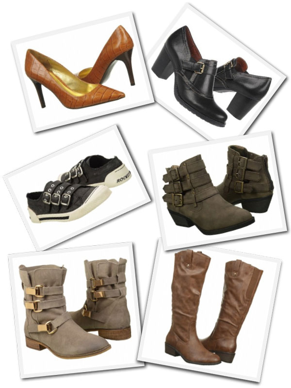 Fall shoes and boots from Shoes.com.