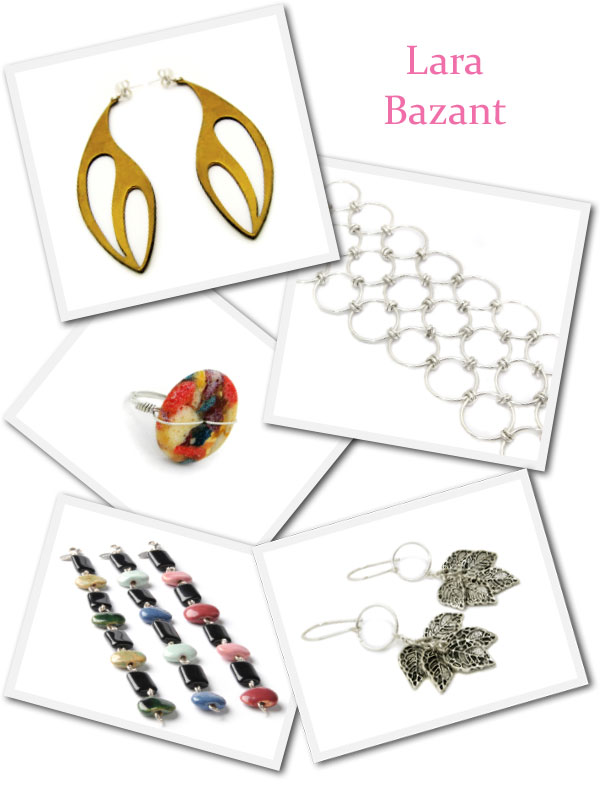 My favorite pieces from Lara Bazant's online eco jewelry collection.