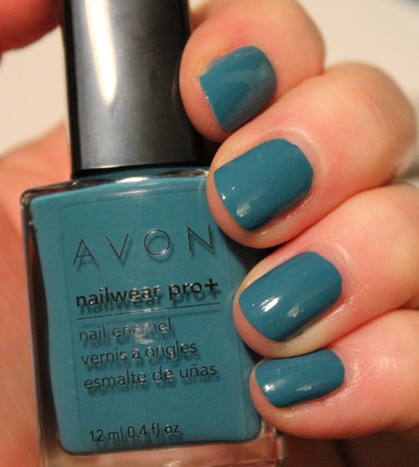 A blue green teal from Avon.