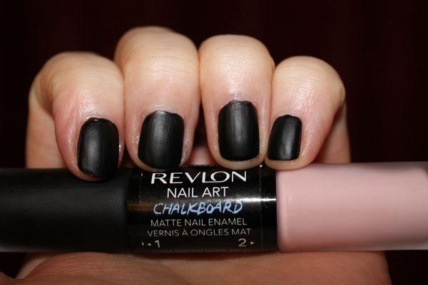 Revlon's chalkboard nail art duo.