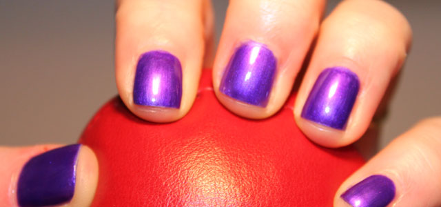 My first Sinful Colors nail polishes.