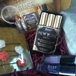 May's box had thee lipsticks with the polish and pretty bobby pins.
