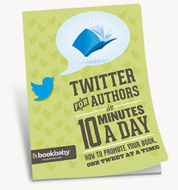 Free e-book with easy steps to promote your book on Twitter.