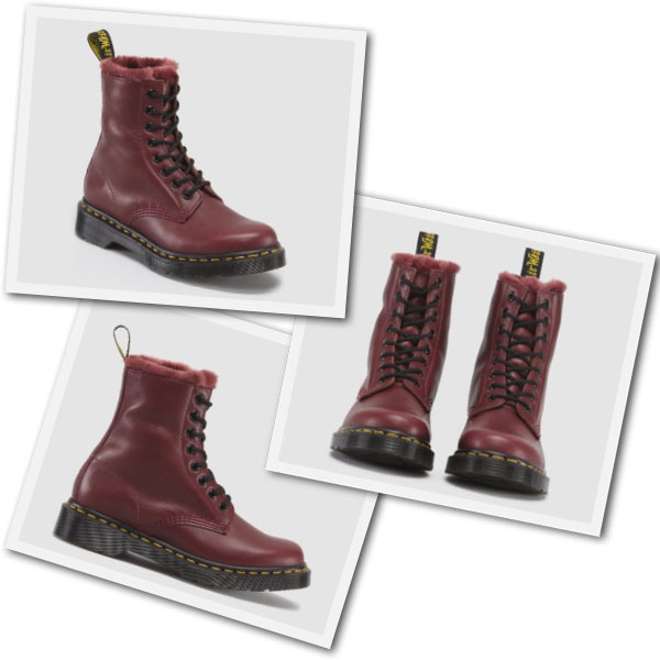 If you like a little fluff in your boots Dr Martens has Winterized Docs with faux fur.