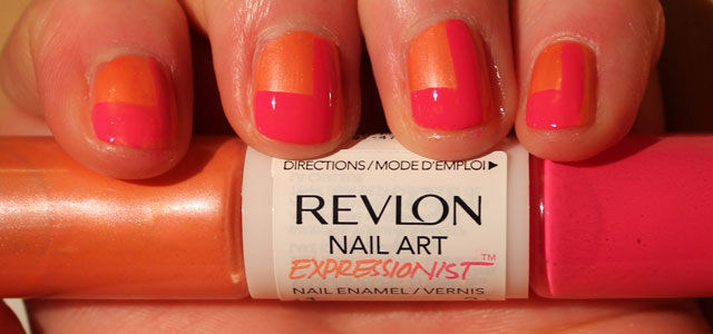 My experience with Revlon's nail art duo nail polishes.