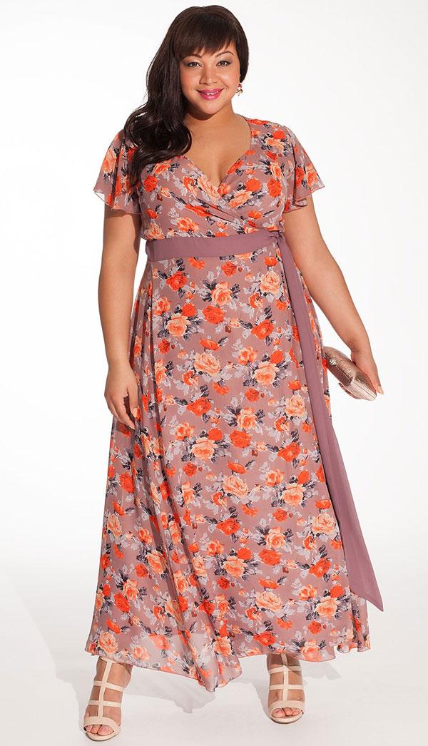 This mandarin rose maxi dress is an excellent wedding guest dress.