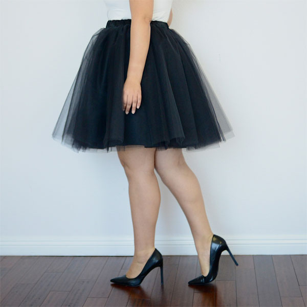 Tanesha Awasthi's plus size tutu from Shop Girl with Curves.