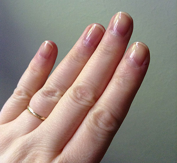 Testing Duri Rejuvacoate nail strengthener.
