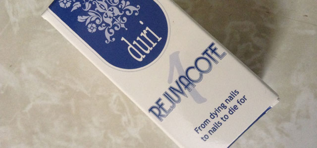 My product review of Duri's Rejuvacote 1 nail treatment.