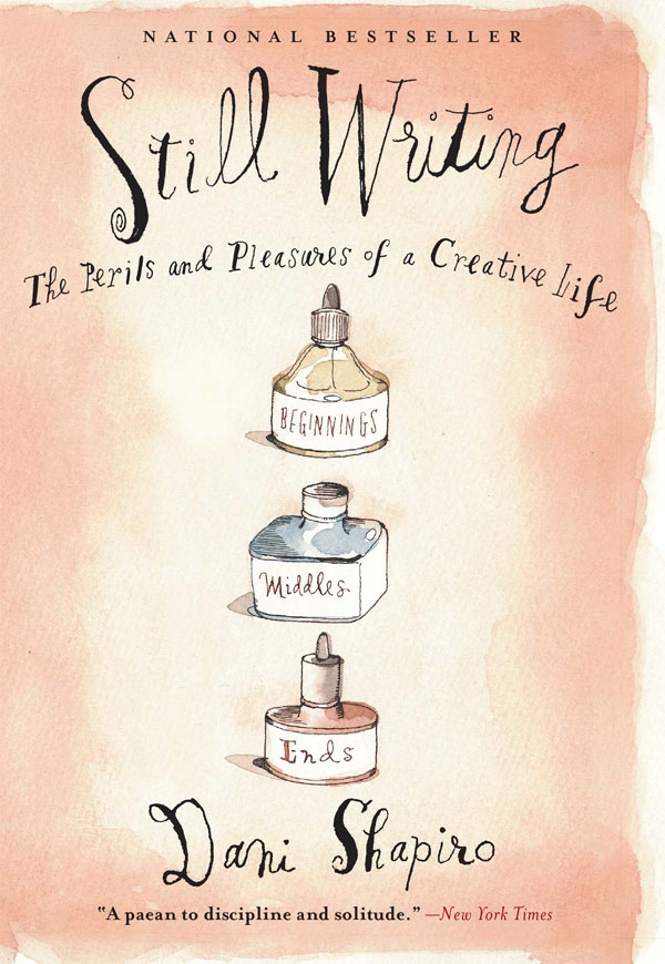 Dani Shapiro's Still Writing has a lovely watercolor cover.
