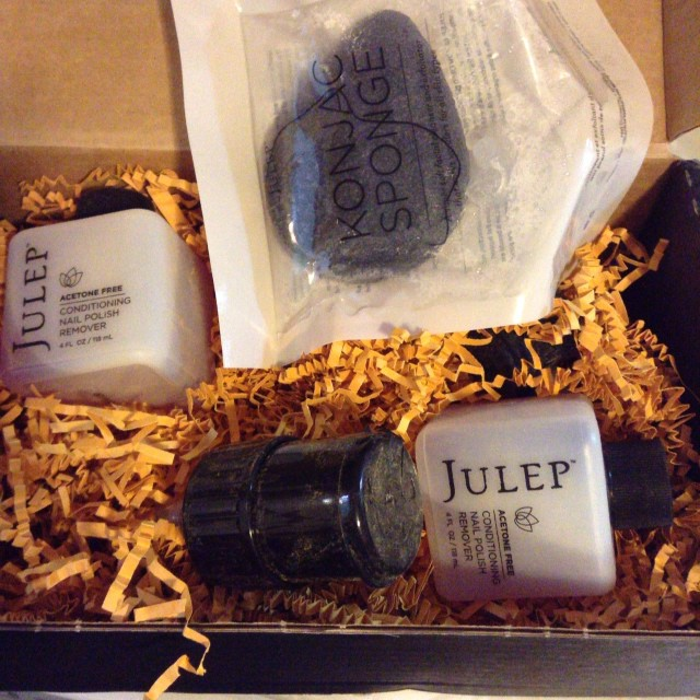 I like Julep's pump action polish remover.