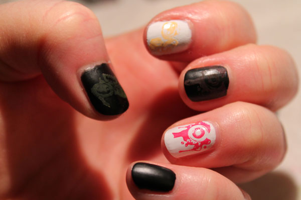 My second attempt at nail stamping.
