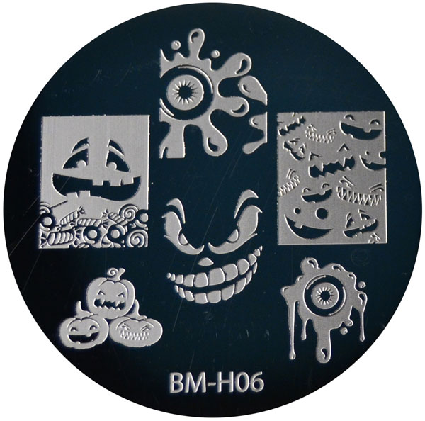 A bundle monster nail stamp plate.